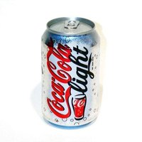 COCA COLA LIGHT BLIK