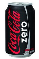 COCA COLA ZERO BLIK (INTERNATIONAAL)