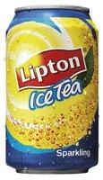 LIPTON ICE TEA SPARKLING BLIK