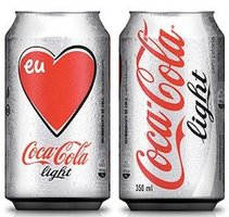 COCA COLA LIGHT BLIK (INTERNATIONAAL)