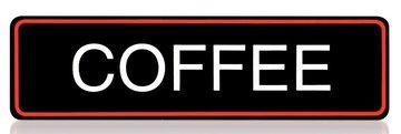 BRAVILOR STICKER COFFEE