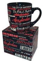 MOK 15 AMSTERDAM CITY OF AMSTERDAM (Zwart/rood/wit)