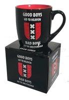 MOK 7 AMSTERDAM GOOD BOYS/ BAD BOYS (zwart/rood)