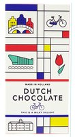 DUTCH CHOCOLATE TABLET 'DE STIJL'  MELK
