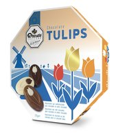 DROSTE 8-KANT TULIPS chocolade
