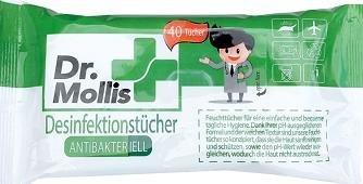 DESINFECTIE DOEKJES  DR MOLLIS (ANT. BAC.)