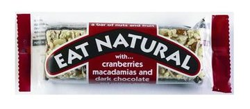 EAT NATURAL CRANBERRY/ MACADAMIA/ CHOCO