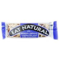 EAT NATURAL PEANUT/ CRANB/ PISTACHE/ CHOC.