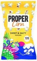 PROPERCORN SWEET & SALTY 20GR