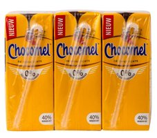 CHOCOMEL MAGER 0% SUIKER MULTIPACKS 5X6