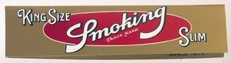 SMOKING KINGSIZE GOUD SLIM VLOEI