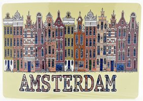 NF PLACEMATS AMSTERDAM GEEL 20 (4st)