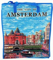 NF SHOPPER AMSTERDAM BLAUW (the city of)