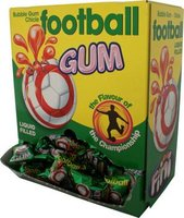 FINI FOOTBALL BUBBLE GUM