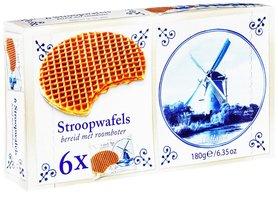 STROOPWAFELS 6X1-PACK DELFTSBLAUW RBV (9,5%) KM