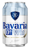 BAVARIA WIT BIER 0.0%  BLIK 0.33