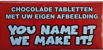 CHOCOLADE TABLET [Custom Made]