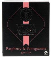 WATTS&WILLSON GREEN TEA RASBERRY-POMMEGRANATE