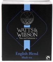 WATTS&WILLSON TEA ENGLISH BLEND