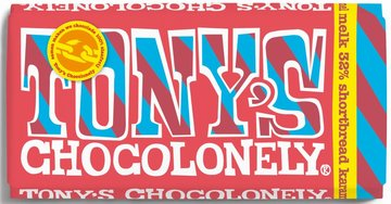 TONY'S CHOCOLONELY TABLET MELK SHORTBREAD (EXCLUSIVE)