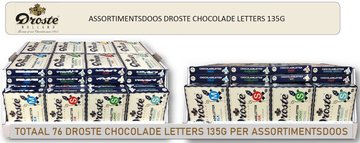 Display DROSTE CHOCO.LETTERS