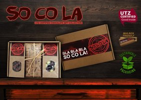 SO CO LA -ChocBoxes 2021 (2 x 100gr choco tablet+ blokzak 100gr Ch,Nuts mix+blokzak 100gr Ch.Rocks m