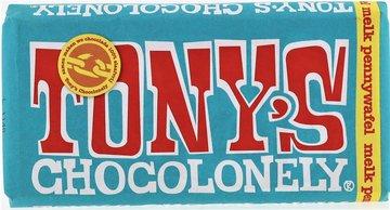 TONY'S CHOCOLONELY TABLET melk pennywafel