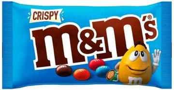 M&M BLAUW CRISPY