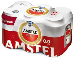 AMSTEL MALT 6-pack FLESJES (0.0% alcohol)