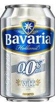 BAVARIA WIT BIER 0.0%  BLIK