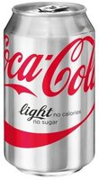 COCA COLA LIGHT BLIK DEENS