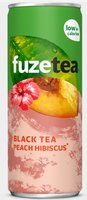 FUZE TEA BLACK PEACH HIBISCUS BLIK