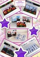 CHOCBOX diverse afbeeldingen COVER 3X100 gram choc.tabletten (Buitenzijde en binnenzijde beplakt)