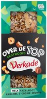 VERKADE REEP OVER THE TOP MELK HAZELNOOT/KARAMEL/COOKIE CRUNCH